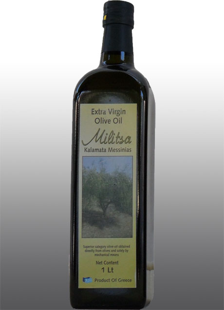 Extra Virgin Olive Oil Militsa 1 lt