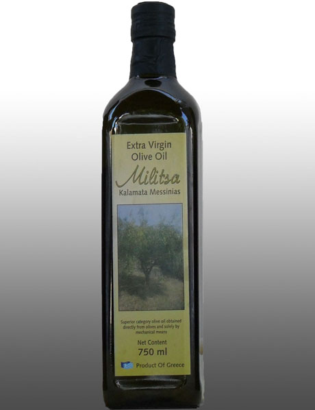 Extra Virgin Olive Oil Militsa 750 ml