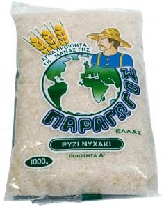 Nychaki Rice Paragogos 1 Kg