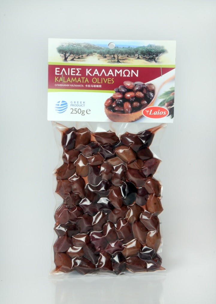 Kalamata olives 250 gr (vacuum)