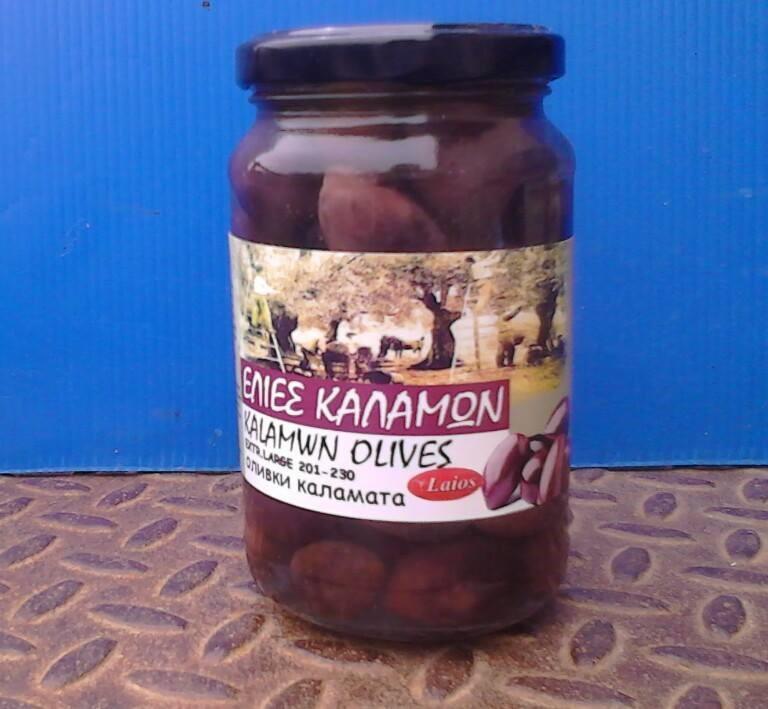 Kalamon olives 720 gr (glass)