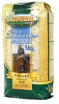 Nychaki Rice Ellinon Spora 500g