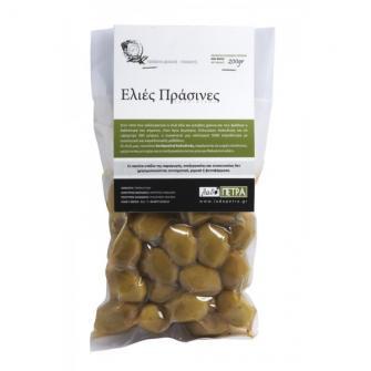 Bio Green Chalkidiki olives 200gr